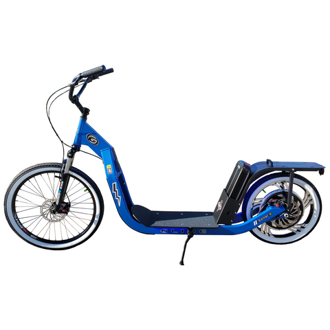 Glide Cruisers Rover 48V 1000 Watt Hybrid Electric Kick Scooter SR1