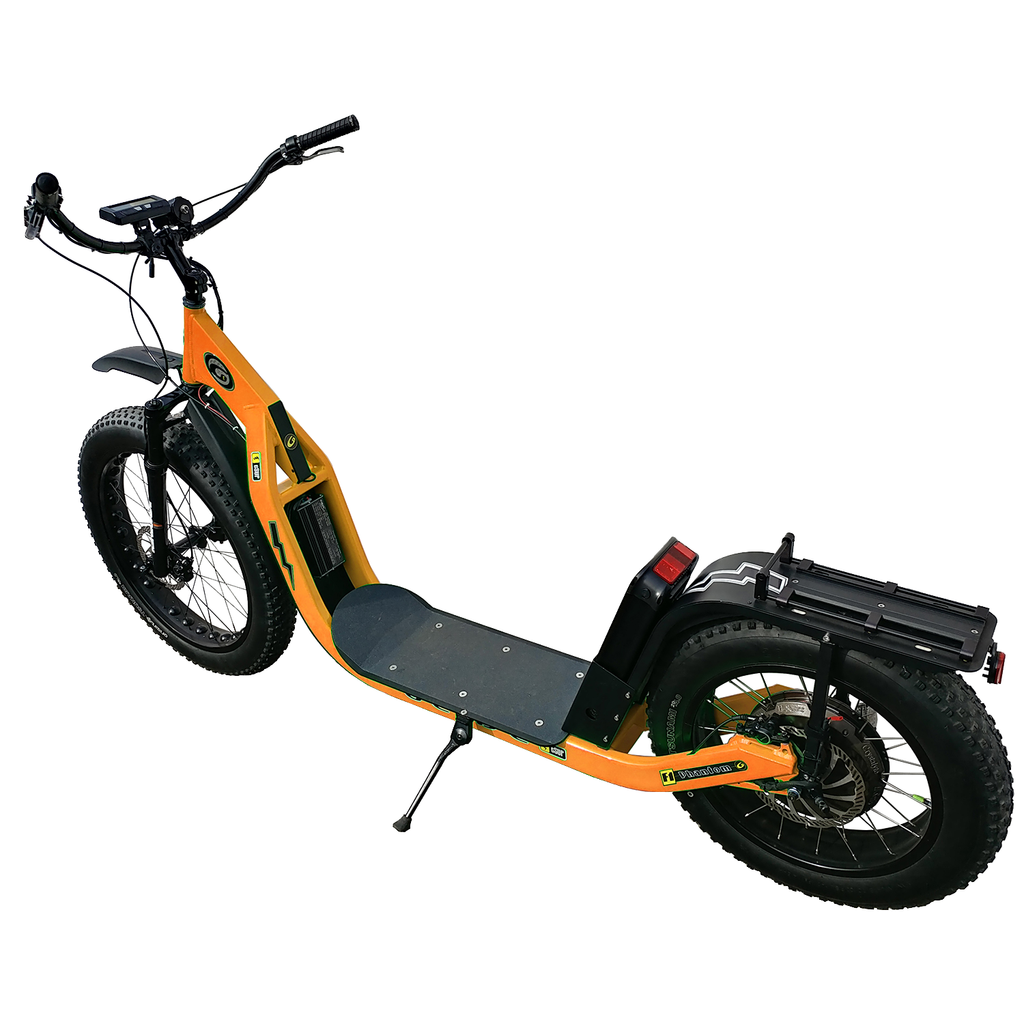 Glide Cruisers Sabre 48V 2000 Watt Fat Tire Electric Scooter F4