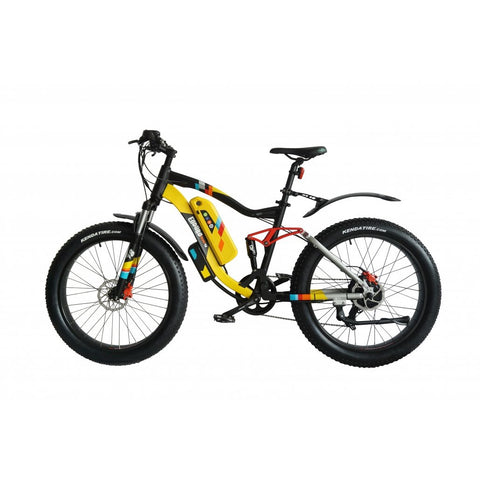 Green Bike Electric Motion Enduro PHAT 48V 750W-1200W Mountain Electric Bike