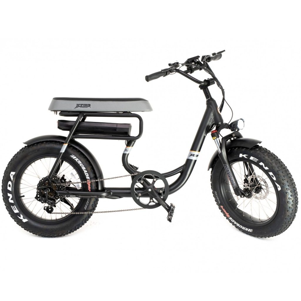 Green Bike Electric Motion Mule 500 Watts Fat Tire E-Bike