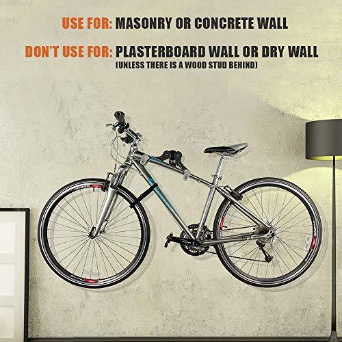 Horizontal Bicycle Bike Wall Hanger