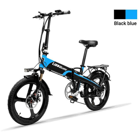 LANKELEISI 48V/10.4Ah 400W Electric Mountain Bike G660