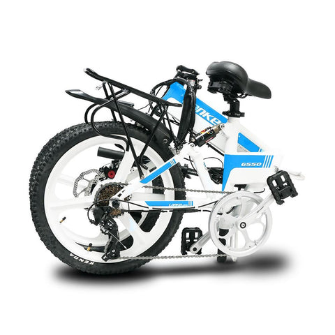 LANKELEISI 48V/10.4Ah 400W Folding Electric Bike G550