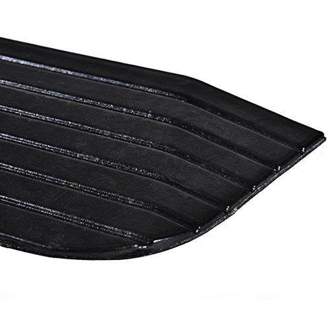 "MAGIC UNION 1-1/2"" Rise Solid Rubber Power Wheelchair Threshold Ramp Doorway"