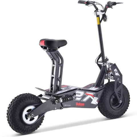 MotoTec Vulcan 48v 1600w Electric Scooter Black