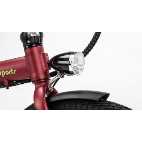 Qualisports Front Lamp for Volador Bike