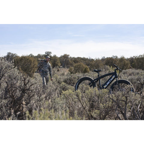 Quietkat 2020 Ranger 750W-1000W Fat Tire Electric Hunting Bike 20RAN