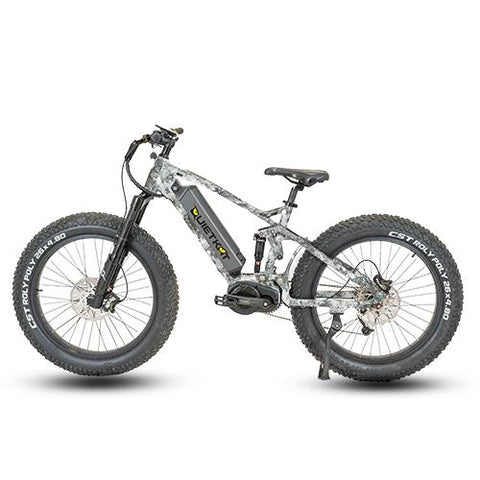 Quietkat 2020 RidgeRunner 1000W Full Suspension Electric Mountain Bikes 20RDR10