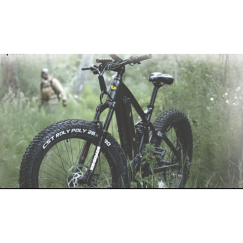 Quietkat 2020 RidgeRunner 750W-1000W Full Suspension Electric Hunting Bike 20RDR10