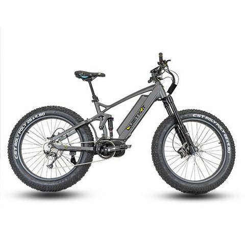 Quietkat 2020 RidgeRunner 750W-1000W Full Suspension Electric Mountain Bikes 20RDR10