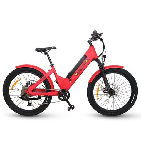 Quietkat 2020 Villager Urban 500W Fat Tire Electric Hunting Bike 20VIL50