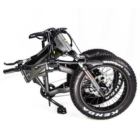 Quietkat 2020 Voyager 750W Fat Tire Electric Hunting Bike 20VOY75