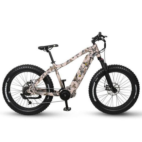 Quietkat 2020 Warrior 750W-1000W Fat Tire Electric Hunting Bike 20WAR
