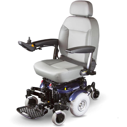 Shoprider XLR Plus 12V/50Ah Standard Mid-Wheel Electric Wheelchair 858WM
