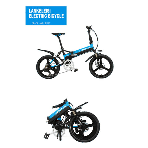 Tiger Mountain Industrial 48V/10.4Ah 400W Folding Electric Bike G550