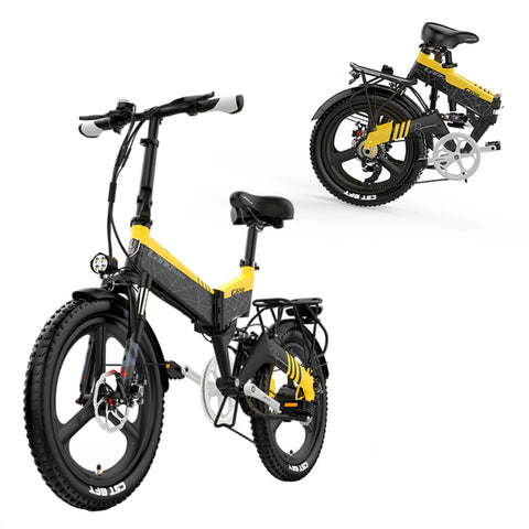 Tiger Mountain Industrial 48V/10.4Ah 400W Folding Electric Bike G650