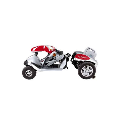 Tzora Hummer XL Titan Dividing Four Wheel Mobility Scooter ES00261