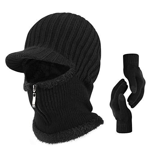 Winter Unisex Knitted Balaclava for Cycling