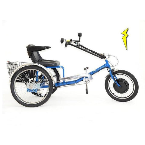 Worksman 36V/10Ah 500-750W Transportation Electric Trike PAV3-3CB