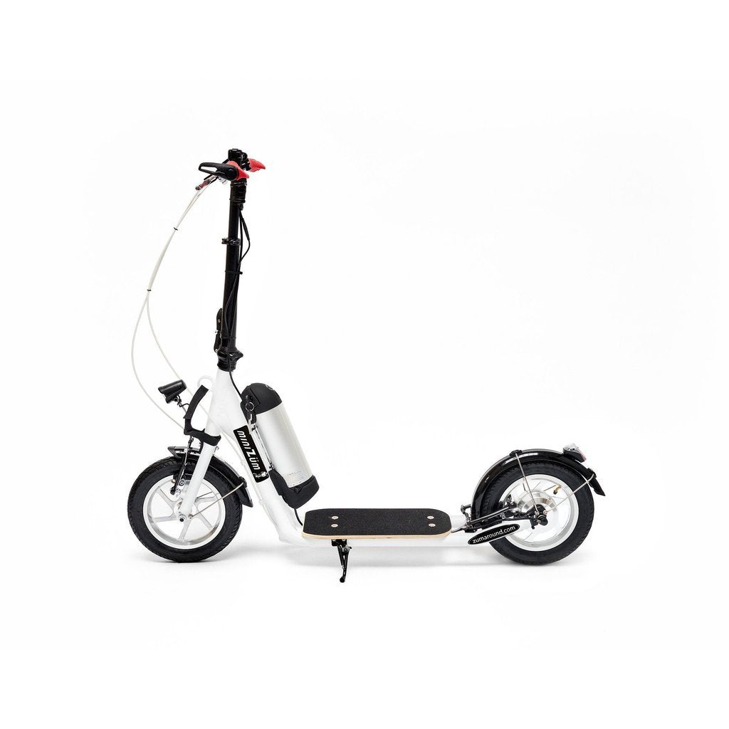 "Zumaround MiniZum 12"" 36V Hybrid Stand Up Electric Scooter MZ"