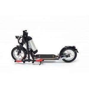 "Zumaround MiniZum 12"" Hybrid Stand Up Electric Scooter MZ-B"