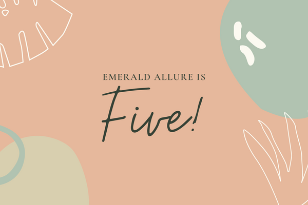 Emerald Allure is 5, and we have an exciting promotion for you!