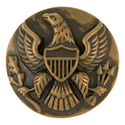 Brass American Eagle Crest