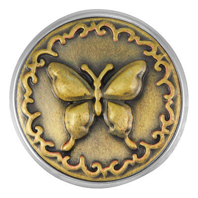 Brass Butterfly Ginger Snap