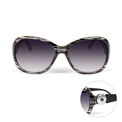 Black/Clear Sunglasses