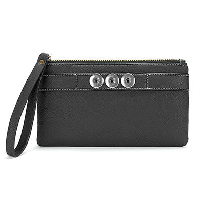 Black Zipper Pouch
