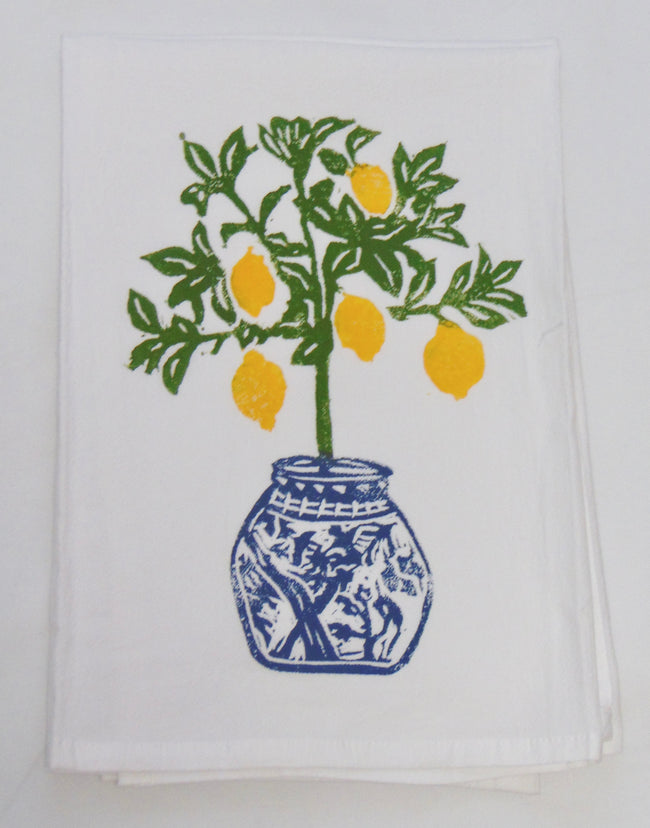 Lemon Tree Kitchen Flour Sack Napkin