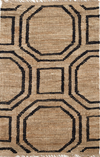 Hexile Hand Knotted Jute Rug