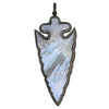 Mother of Pearl Arrowhead Pendant