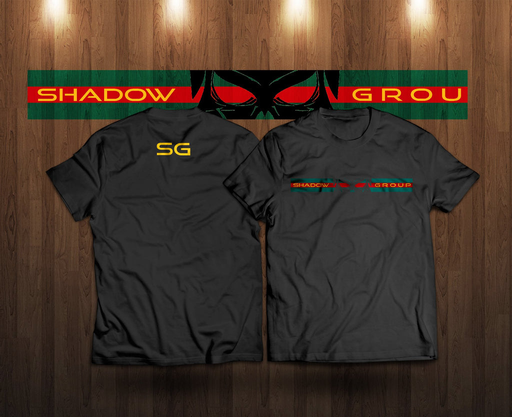 Shadow Group Vertical Skull - Black
