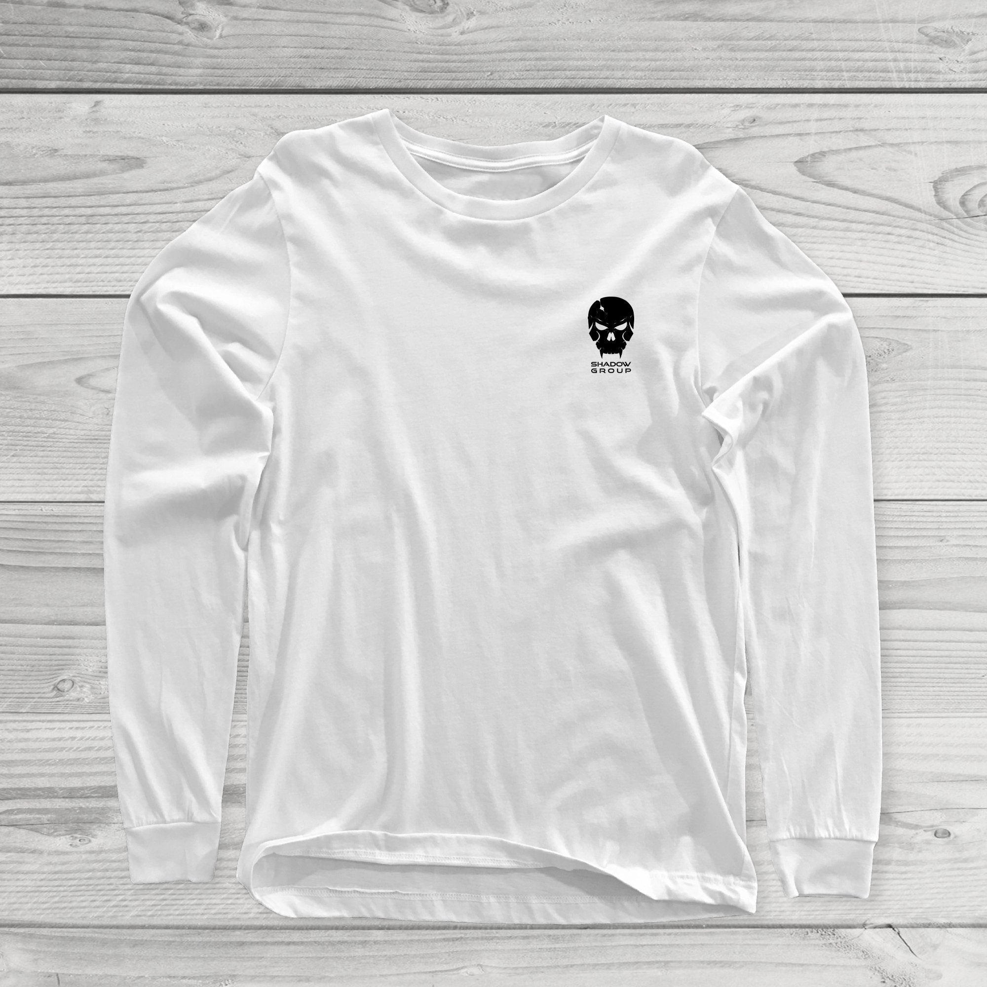 LS Chest Logo Tee