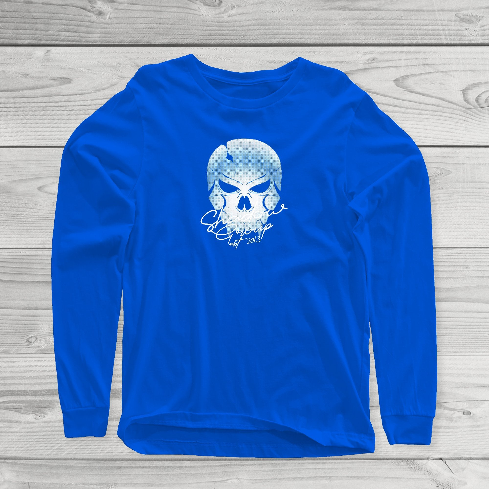 LS Faded Skull Long Sleeve Tee