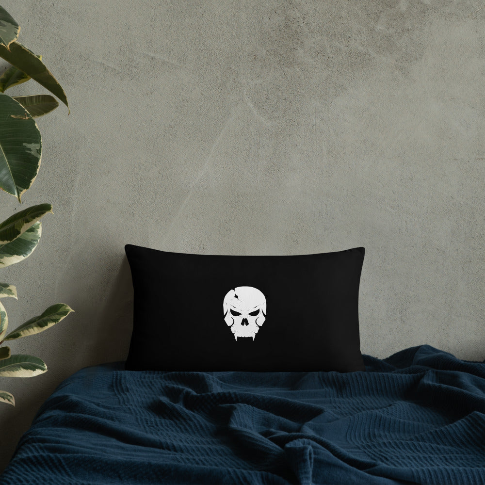 SHADOW GROUP SKULL PILLOW