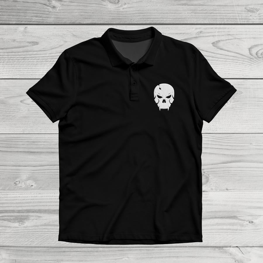 SHADOW GROUP SKULL POLO