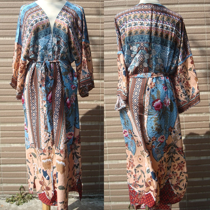 Print Swimsuit Cover Up