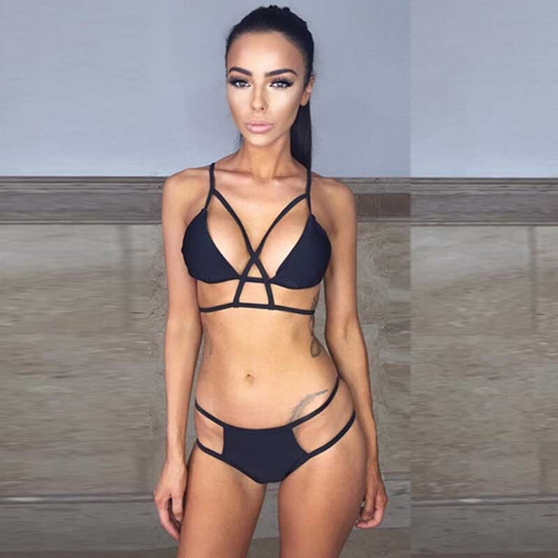 Bandage Push Up Bikini (Two Piece Set)