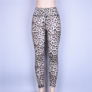 High-Waisted Leopard Legging