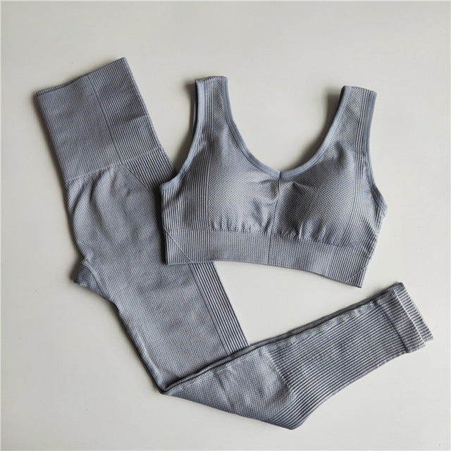 Seamless Yoga Set (Two Piece)
