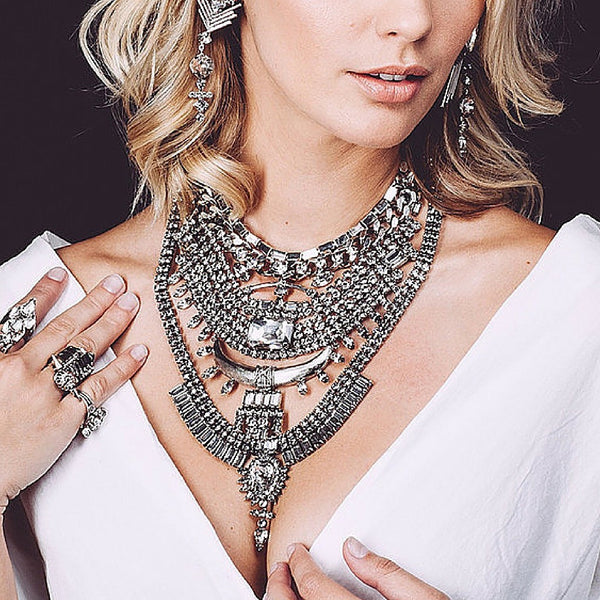 Accessorize Necklaces  With  Necklines