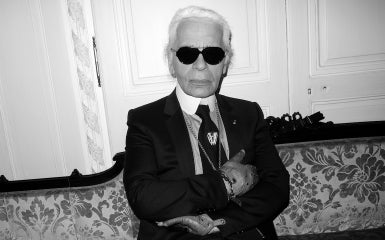 Karl Lagarfeld, Head Designer and Creative Director of the fashion house Chanel