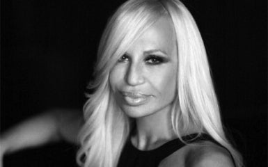 Donatella Versace, Fashion Designer and Vice President  Of the Versace Group
