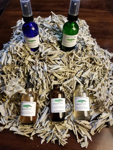 This set includes all five of our 2 oz. Sage Sprays
