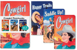 Cowgirl Notebooks (set of 3)