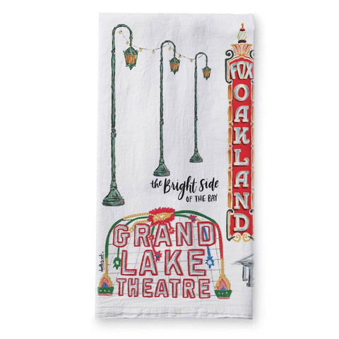 Oakland Tea Towel