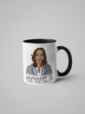 WWKD - What Would Kamala Do? Kamala Harris Mug