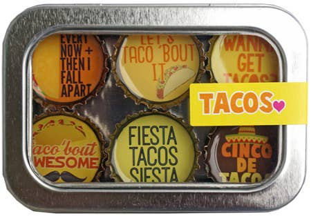 Tacos Magnet - Six Pack Set